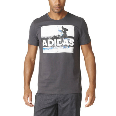 Pánske bavlnené tričko adidas Trail Running - Think Bigger 011b4b1bd58