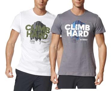 88b0f95e1cdb Pánske tričko adidas TRAIL CLIMB HARD TEE - Down Wall Edition